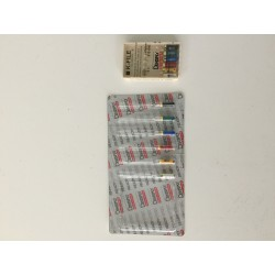 Limas K Dentsply Colorinox nº15-40 25mm